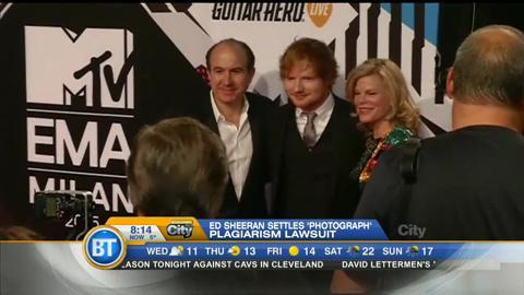 Ed Sheeran settles $20M plagiarism lawsuit over Photograph