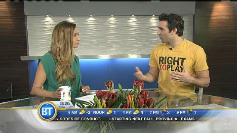 Roughnecks captain Andrew McBride on Right to Play – March 17th