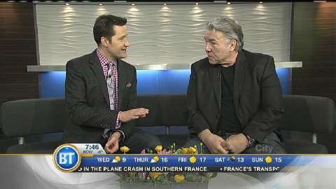 Heavyweight boxing legend George Chuvalo – March 25th
