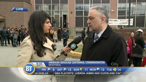 Montreal Armenian community remembers