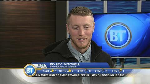 Calgary Stampeders Bo Levi Mitchell
