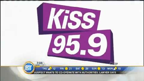 Jill visits with Billie Jo from Kiss 95.9