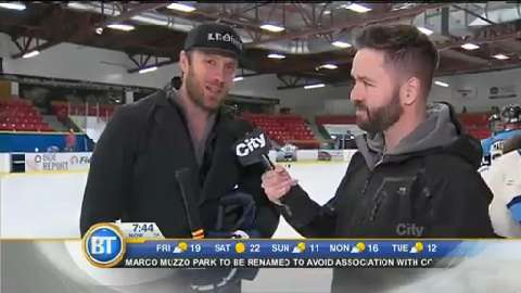 JUNO Cup Practice: The Tenors' Fraser Walters interview