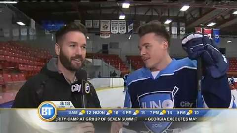 JUNO Cup Practice: Shawn Hook interview