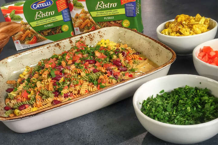 Summer food trends: Catelli Bistro® Fusilli, Cauliflower and Cream Corn