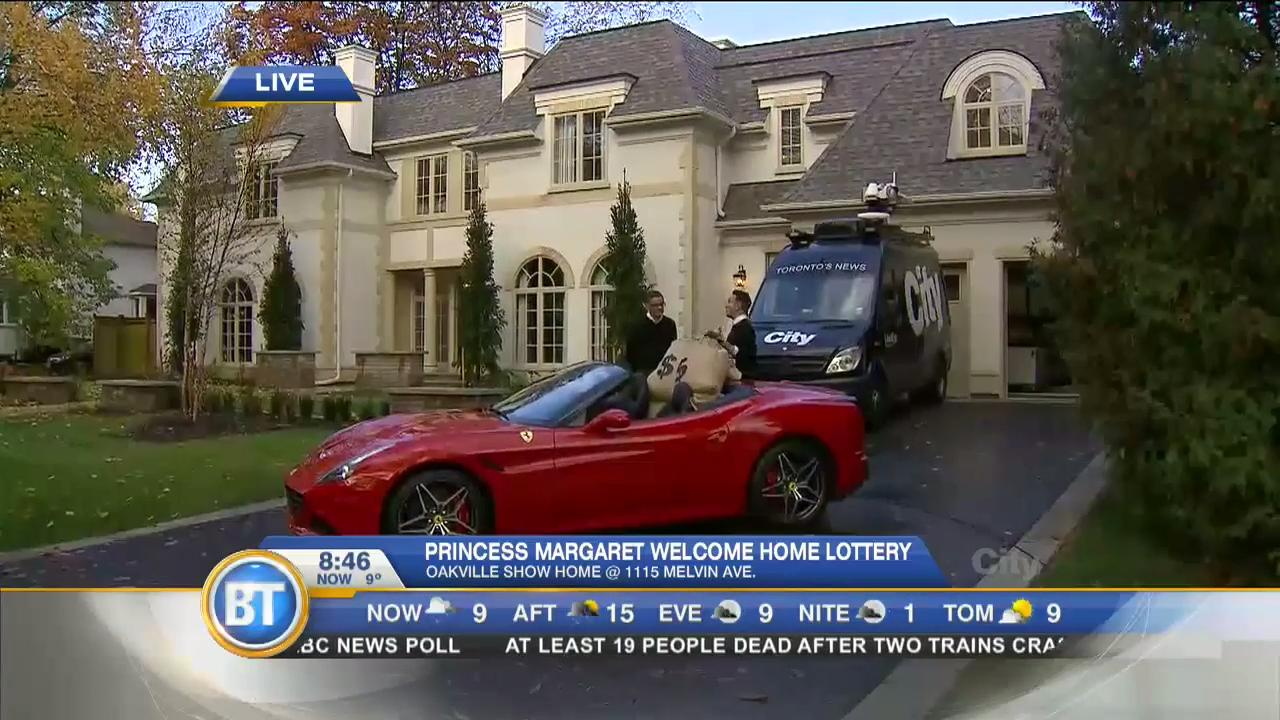 Shai live at the Princess Margaret lottery home (4 of 4)