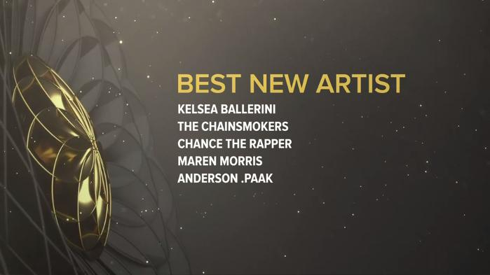 'Best New Artist' Nominees