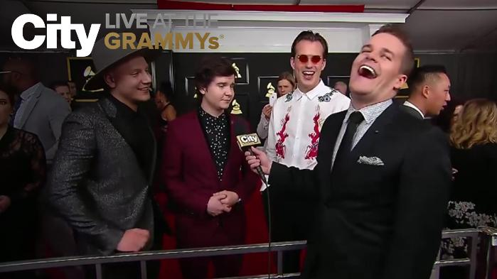 Lukas Graham Tells Us What They're Up To After The GRAMMYs