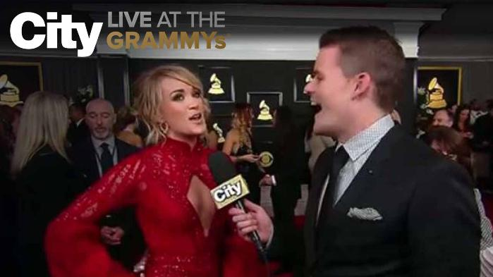Carrie Underwood Tells Us Why The GRAMMYs Never Get Old.