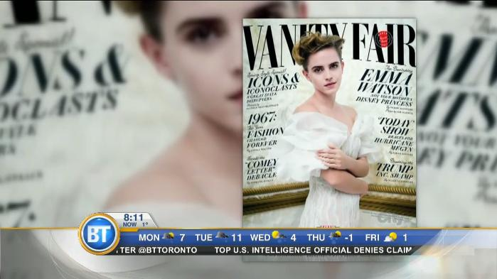 Emma Watson reacts to controversy over her Vanity Fair photoshoot