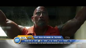 Vin Diesel and The Rock continue to fued!