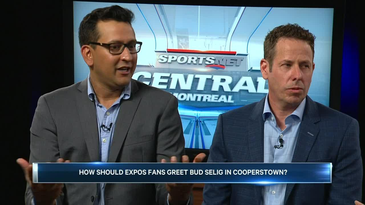 Sportsnet Central Montreal: How should Expos fans greet Bud Selig in Cooperstown?
