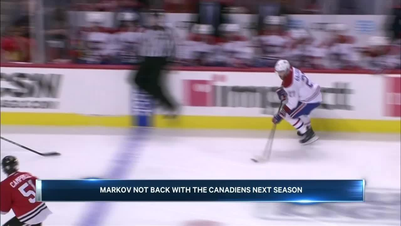 Sportsnet Central Montreal: Andrei Markov leaves Habs, goes to KHL