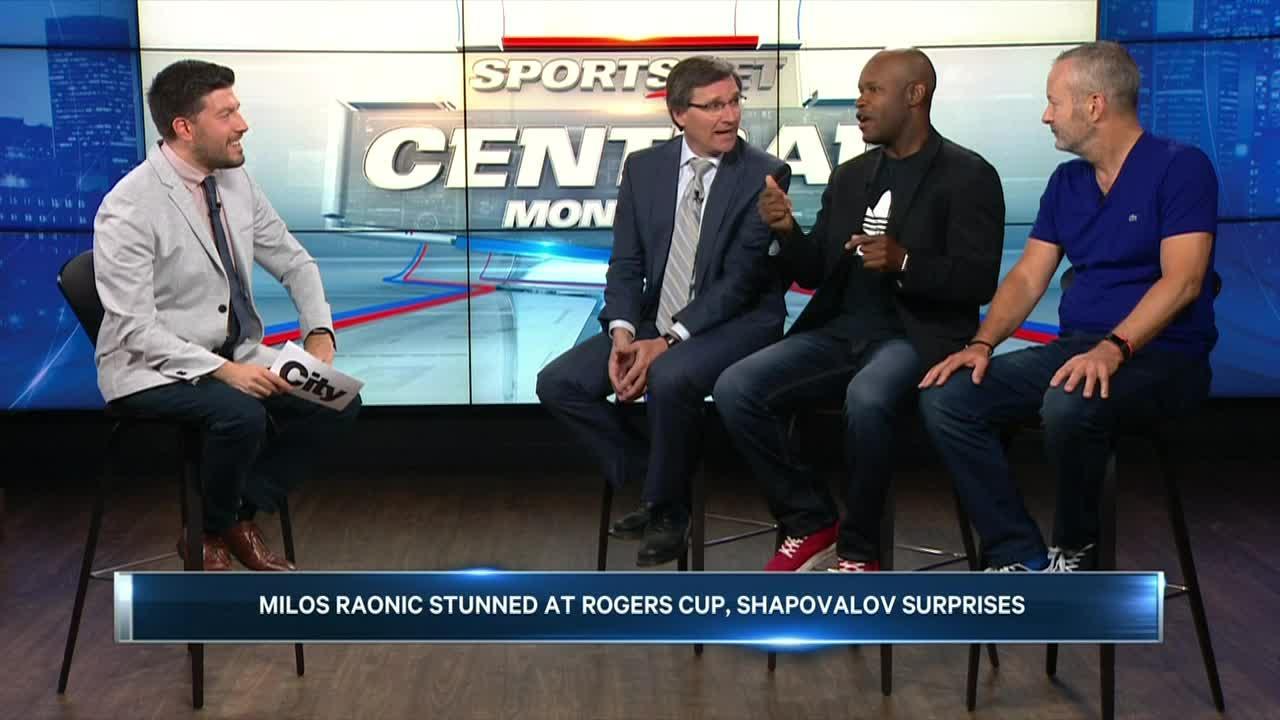 Milos Raonic stunned at Rogers Cup, Shapovalov surprises