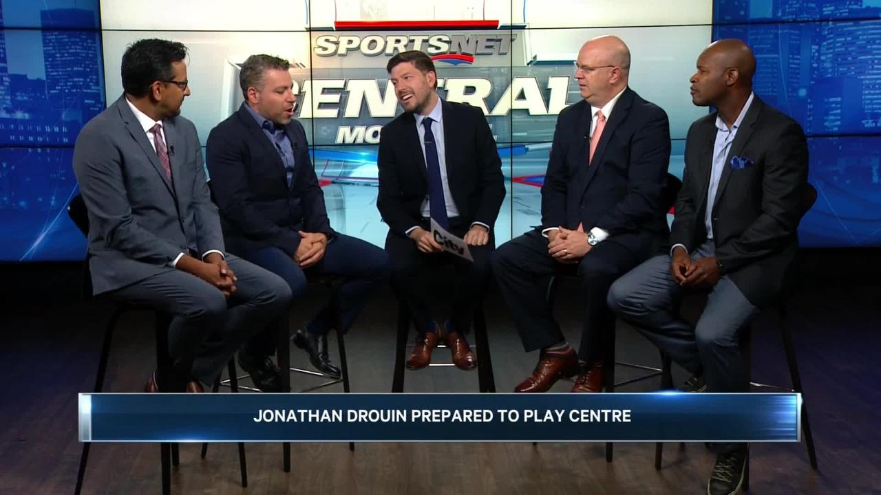 Can Jonathan Drouin play centre for the Habs?