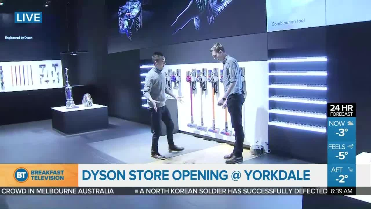Winston live at yorkdales dyson store opening 1 of 4 ccuart Images