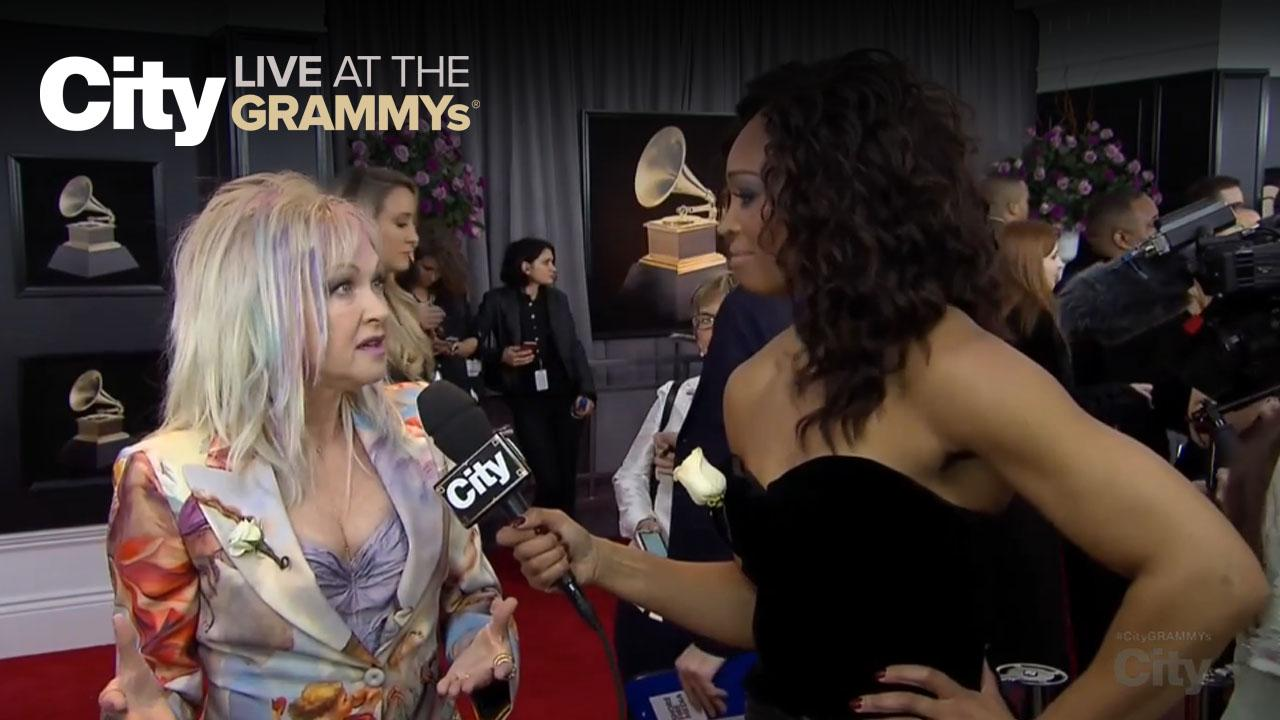 Cyndi Lauper Talks Equality in the Workplace | City LIVE at the GRAMMYs