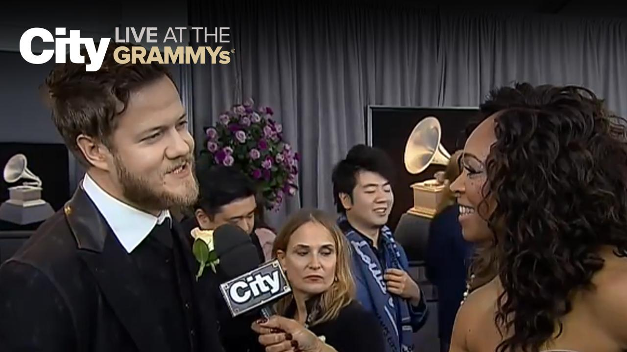 Dan Reynolds explains the meaning behind 'Thunder' | City LIVE at the GRAMMYs