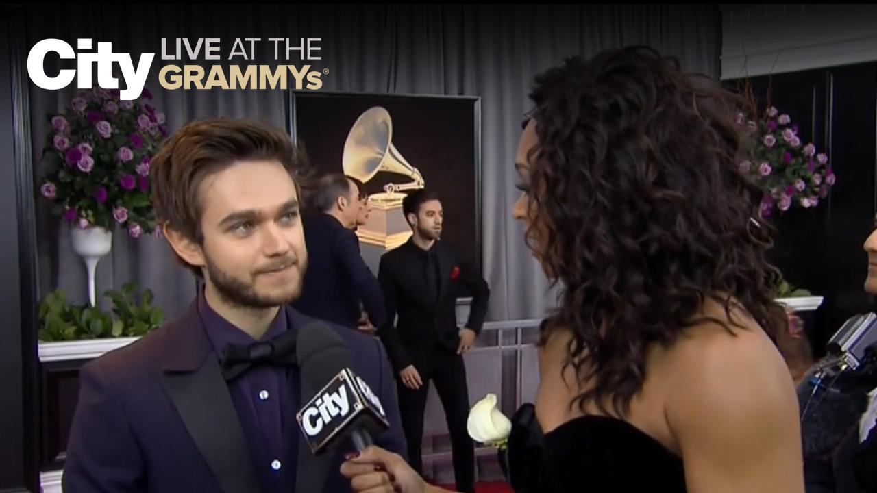 Zedd super excited for his GRAMMY nomination | City LIVE at the GRAMMYs