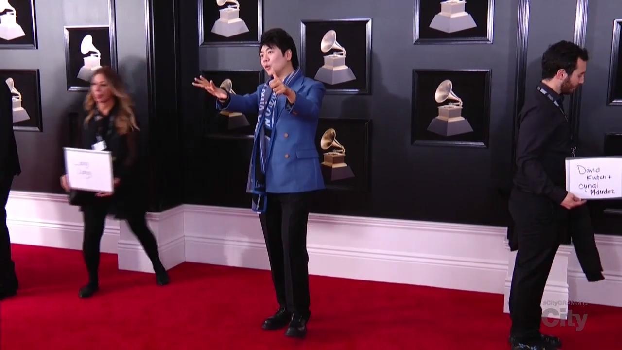 Lang Lang Red Carpet