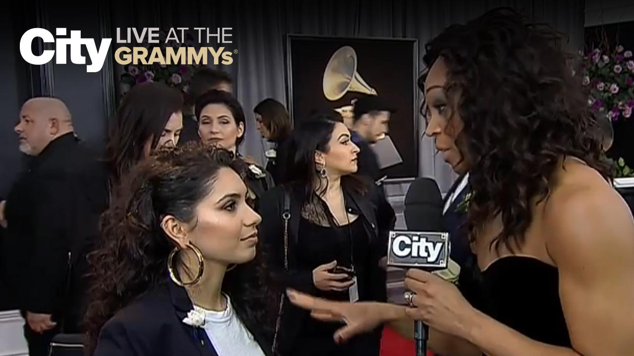 Best New Artist Winner Alessia Cara chats with City | City LIVE at the GRAMMYs