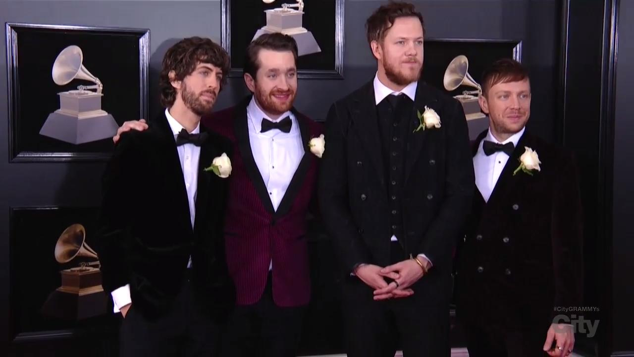 Imagine Dragons Red Carpet