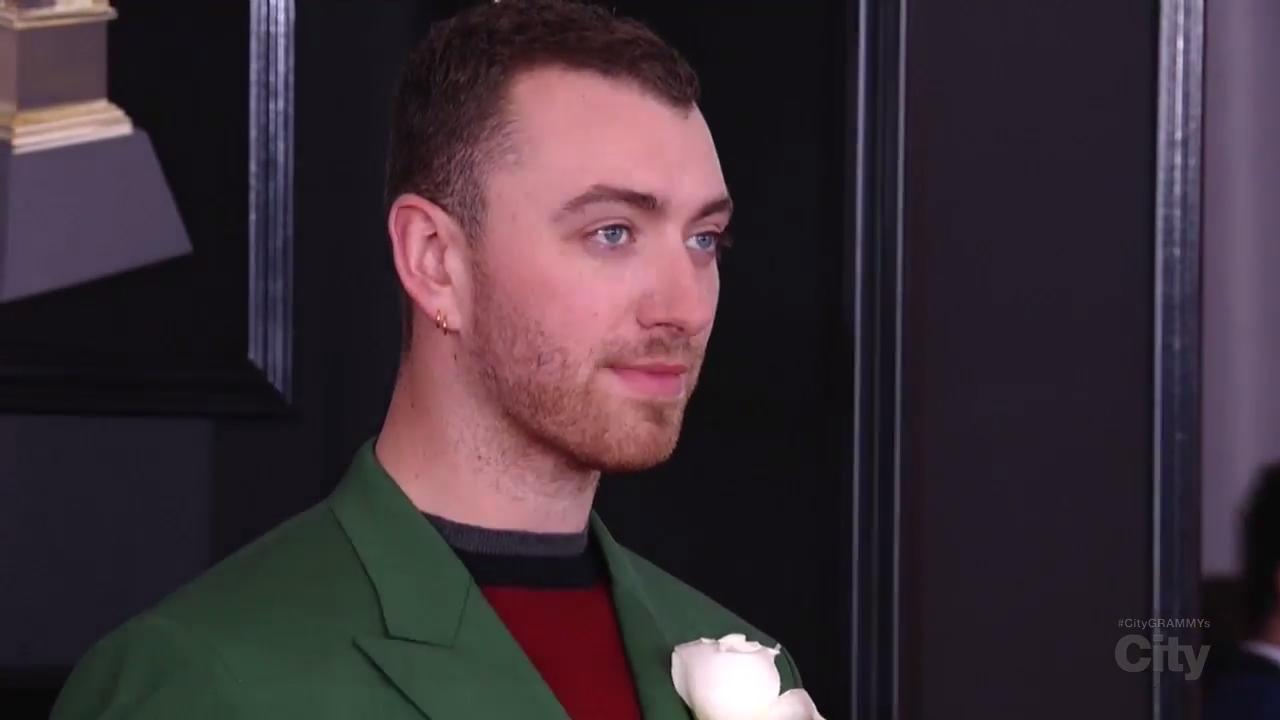 Sam Smith Red Carpet