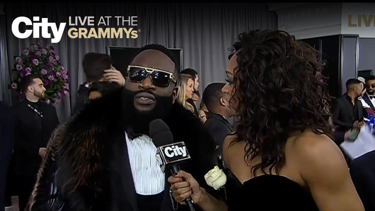 Rick Ross - Hip-hop is in the building! | City LIVE at the GRAMMYs