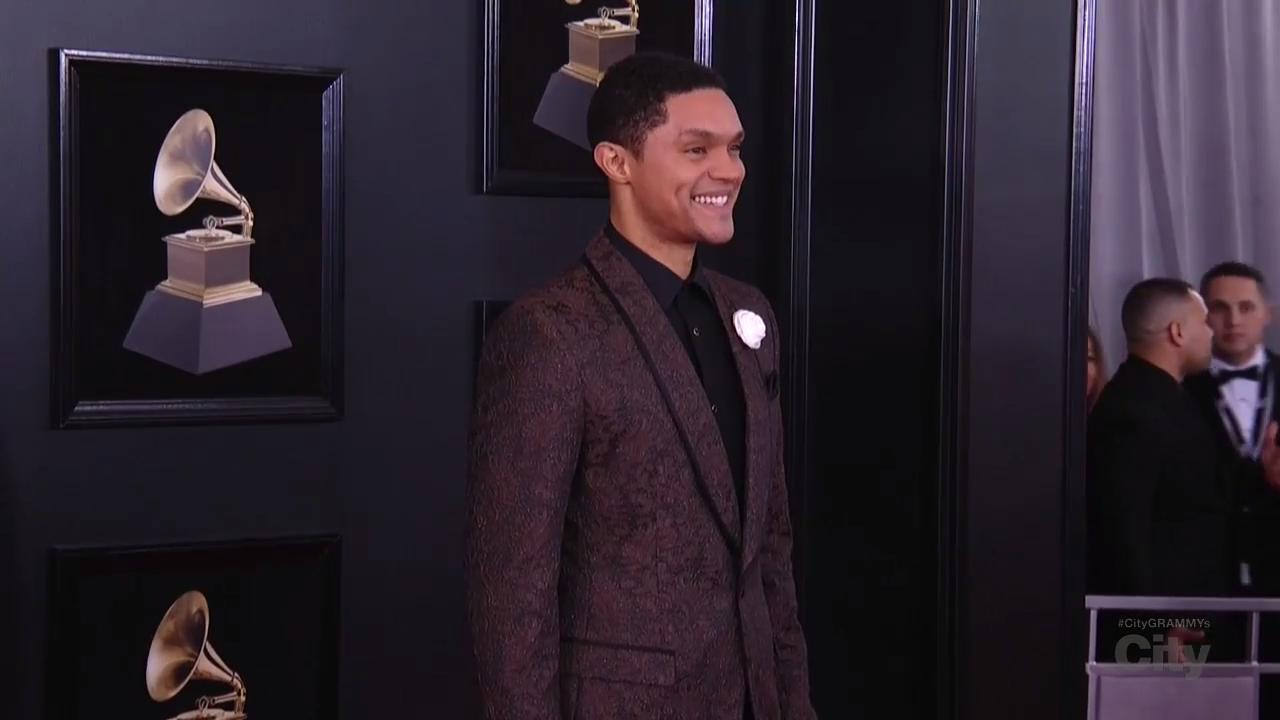 Trevor Noah Red Carpet
