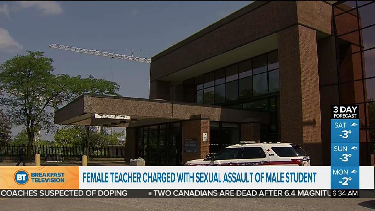 Brantford collegiate institute teacher charged with sexual misconduct