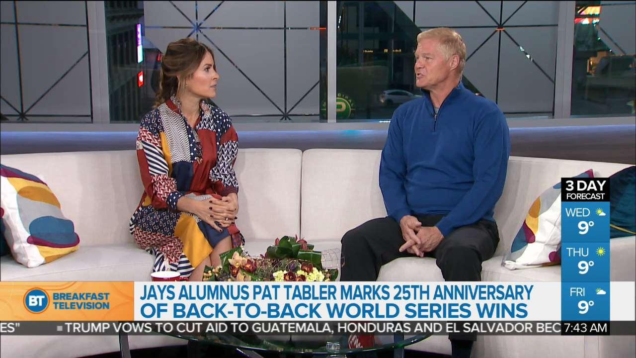 Jays mark 25th anniversary of back-to-back World Series win