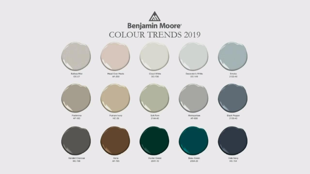 3 Expert Predictions For The Hottest Colour Trends For 2019