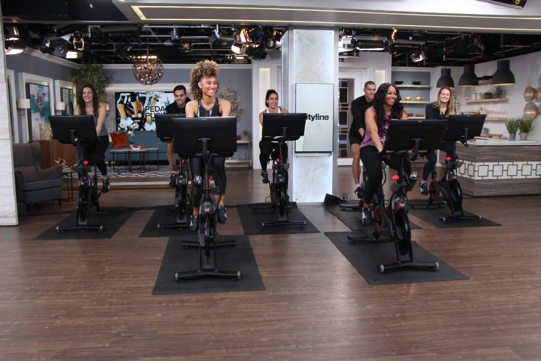Trying the celebrity-fave Peloton bike workout