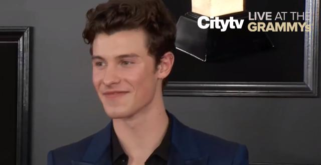 Shawn Mendes on the red carpet | Citytv LIVE at the GRAMMYs
