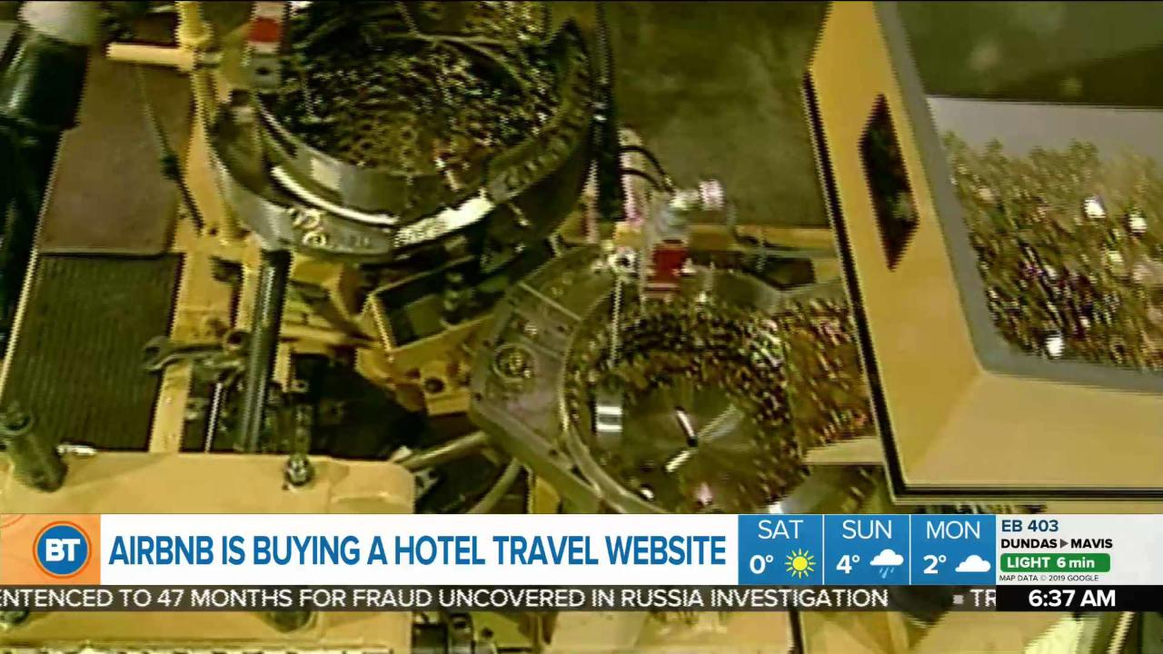 Business Report: Airbnb buys hotel travel website