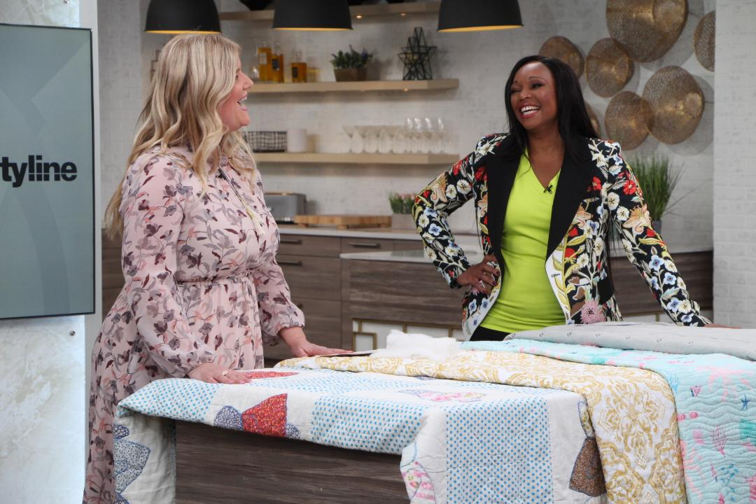 Bright and cozy Spring quilts