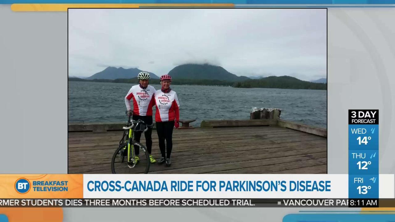 bd0224e0de9 Cross-Canada ride for Parkinson's disease