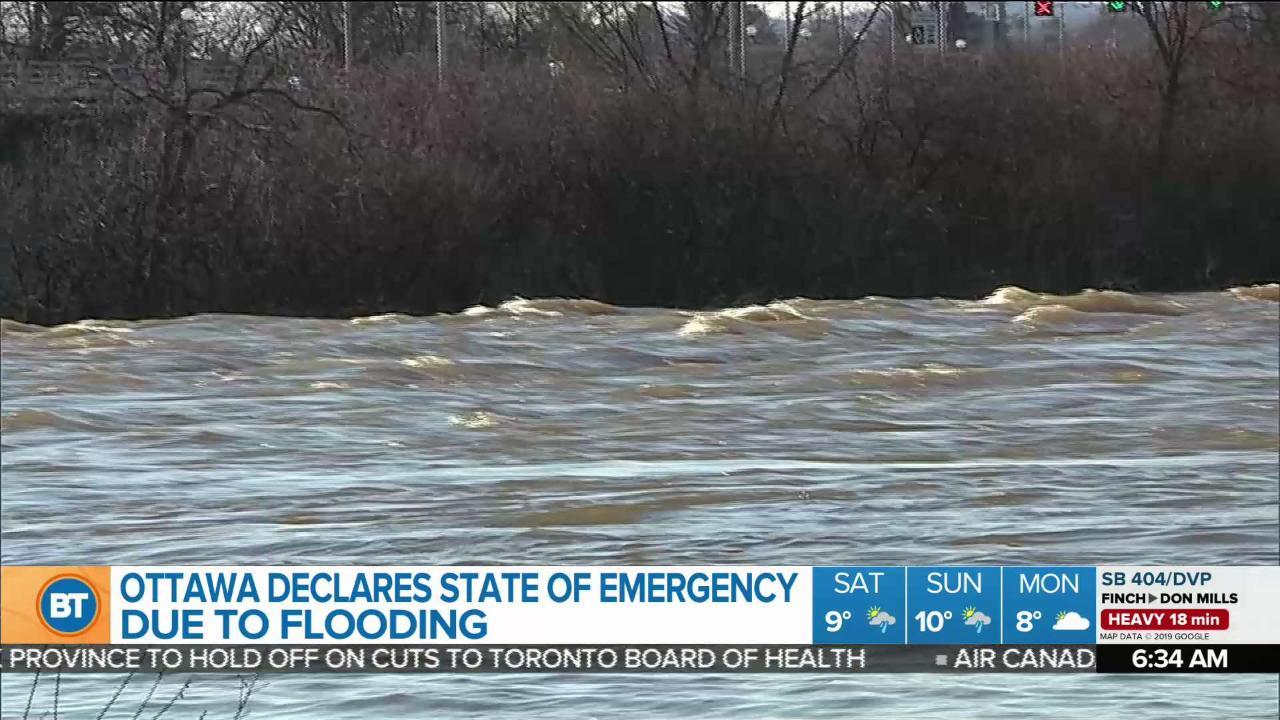 More rain, flooding across parts of Ontario
