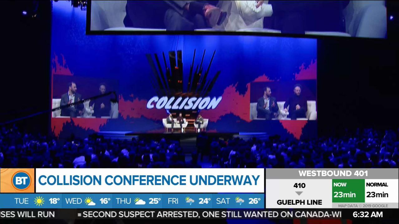 First Collision conference held in Toronto
