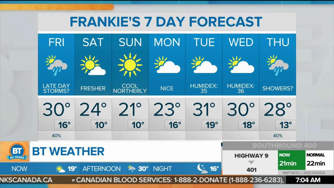 Temperature could hit record-breaking high on Friday