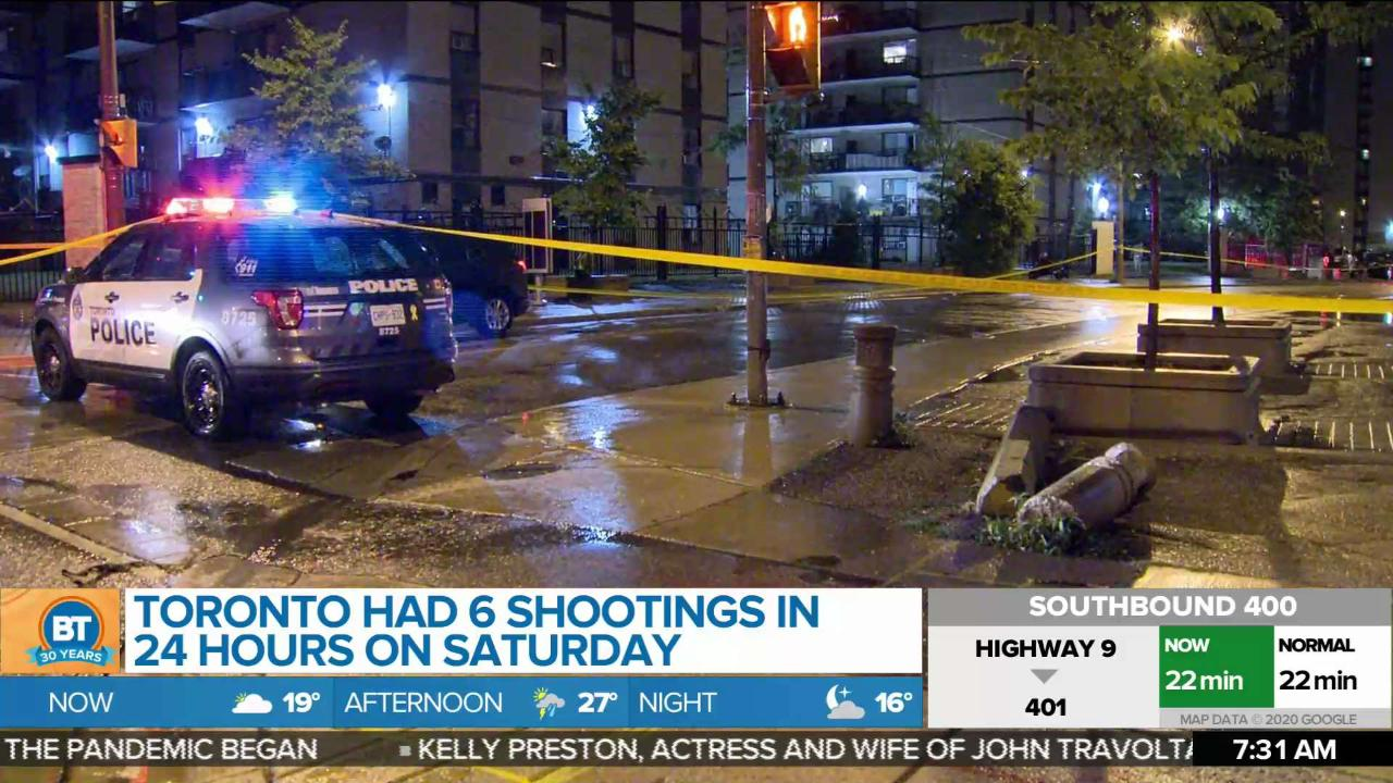 Toronto had 6 shootings in 24 hours, but what can be done about gun violence?